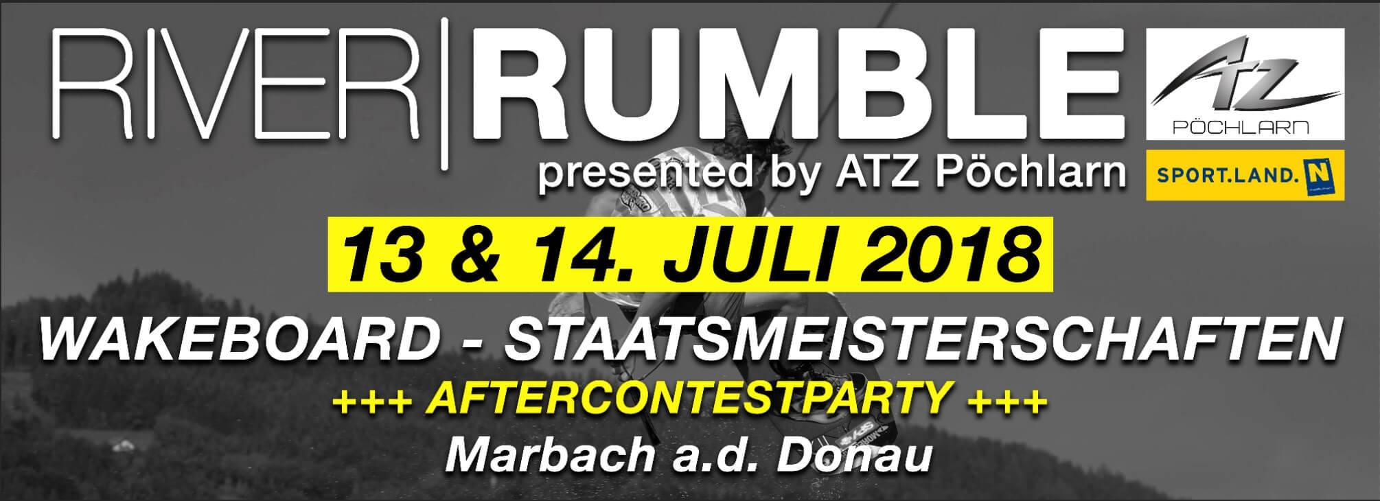 River Rumble -13. bis 14. Juli 2018