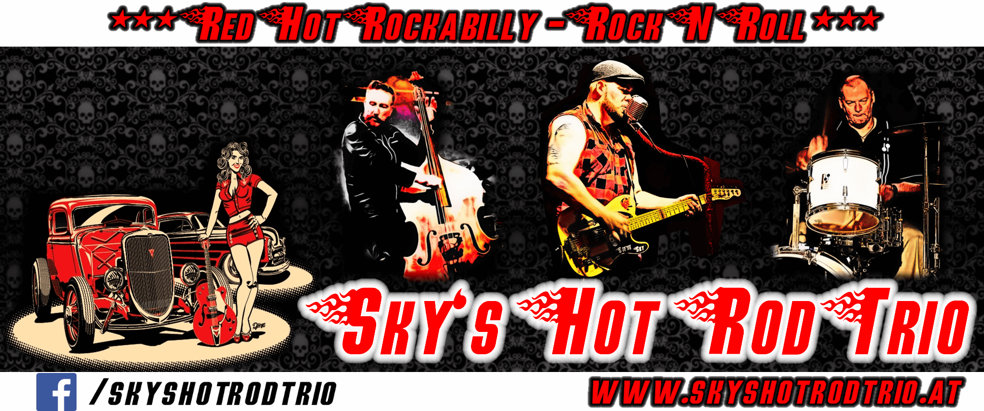 *Abgesagt* Sky's Hot Rod Trio- Live Musik - 31. August 2018