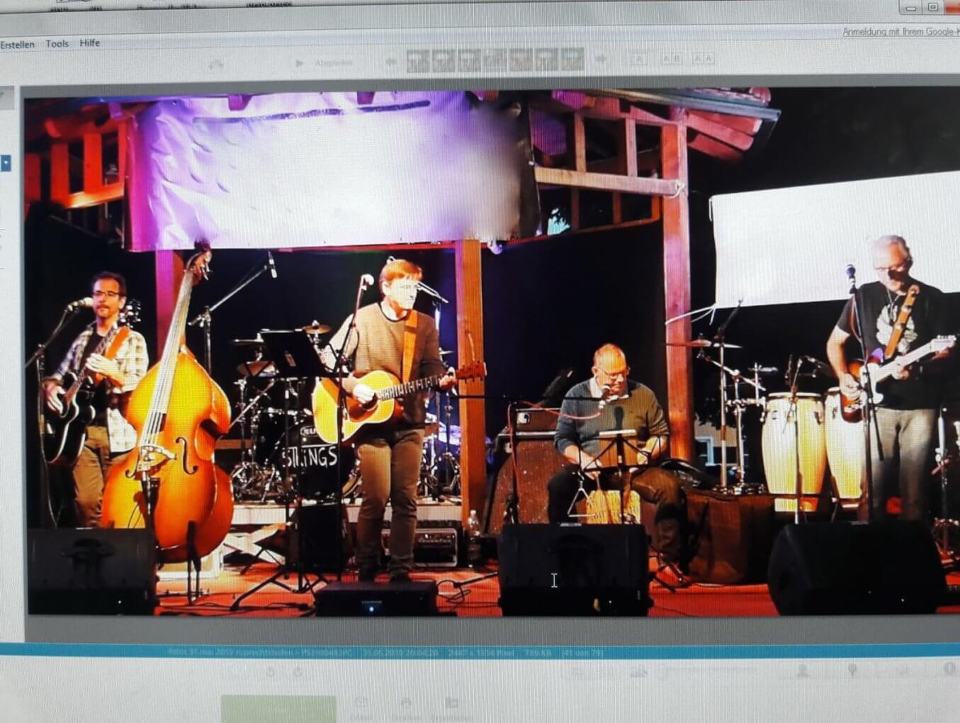 Live Musik - Samstag 08. August 20